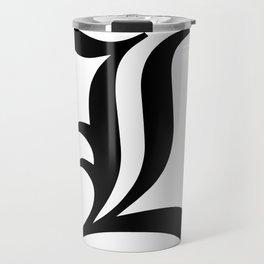 L Death Note Travel Mug