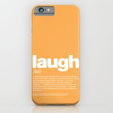 definition LLL - Laugh iPhone 6s Slim Case