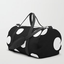 Polkadot (White & Black Pattern) Duffle Bag