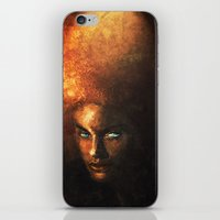 afro iPhone & iPod Skins featuring AFRO by John Aslarona