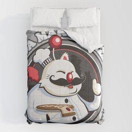 Papa Mako's Pizza Comforters