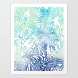 Green Leaves Art Print
