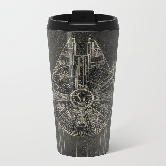 Millennium Falcon Metal Travel Mug