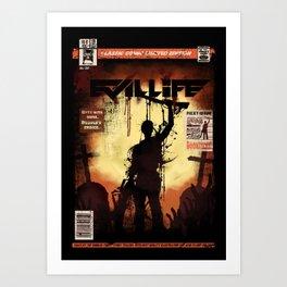 Evil LIfe Art Print