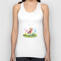 lydia martin Tank Tops featuring Lydia by Louis Van Driessche