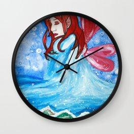 Winter Bringer Wall Clock