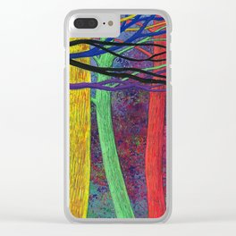 My favorite trees Clear iPhone Case