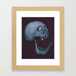 Broken Jaw Framed Art Print
