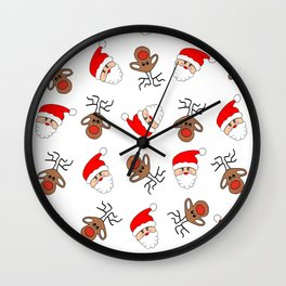 Most Festive Time Of The Year Wall Clock