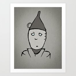 Tin Man Art Print
