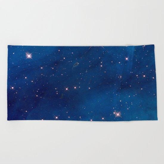 Space 07 Beach Towel