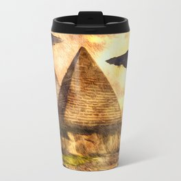 Ancient Aliens and Ancient Egypt Travel Mug
