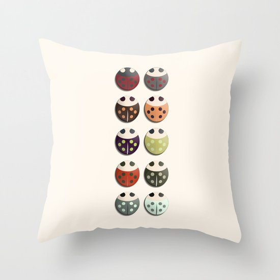 Ladies and... Throw Pillow