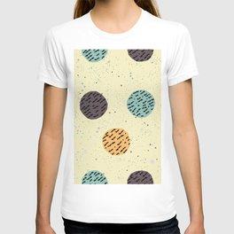 Terracotta Pattern in modern colours T-shirt