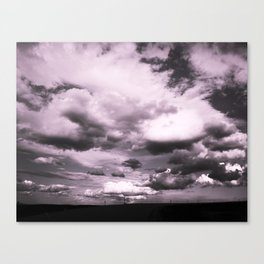 Cloudy Sky #decor #society6 Canvas Print