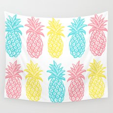 Pineapple Tropic Wall Tapestry