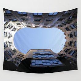 Barcelona Photography - Casa Mila La Pedrera Wall Tapestry