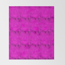 Impressions of a rose II series Throw Blanket