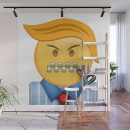 ZIP IT DONALD Wall Mural