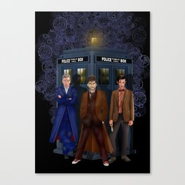 The best regeneration of Doctor who Canvas Print