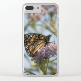 Monarch Butterfly XXIV Clear iPhone Case