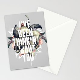 I've been thinkin' 'bout you Stationery Cards