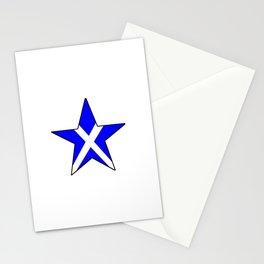 flag of scotland 8– scotland,scot,scottish,Glasgow,Edinburgh,Aberdeen,dundee,uk,cletic,celts,Gaelic Stationery Cards