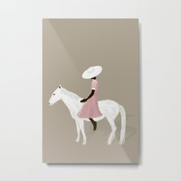 Horses are magical, aren't they? Metal Print