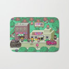 Earthbound town Bath Mat