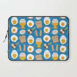 Kawaii Eggs For Breakfast Laptop Sleeve