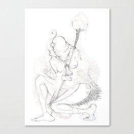 Sha Man Man Canvas Print