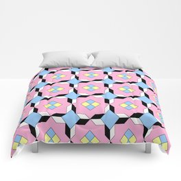 symetric patterns 64 -mandala,geometric,rosace,harmony,star,symmetry Comforters