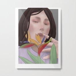 Kokobop inspired portrait Metal Print