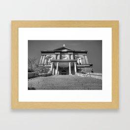 Auburn Courthouse Framed Art Print