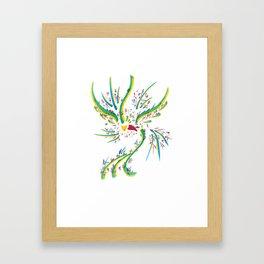 ''Aqui'' Framed Art Print