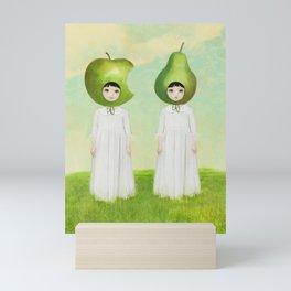 orchard twins Mini Art Print