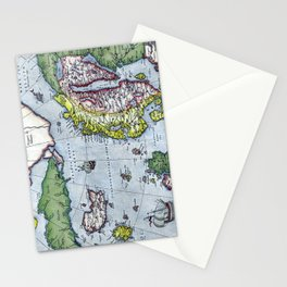 Map of Northern Europe - Ortelius - 1570 Stationery Cards