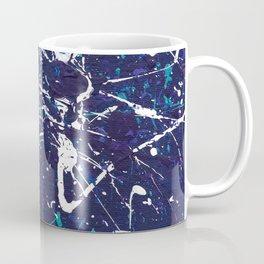 Blue Ocean Splatter Coffee Mug