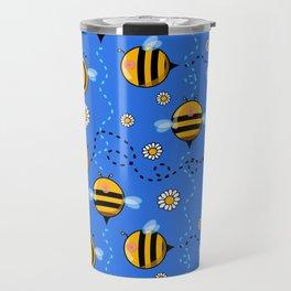 boo(bees) boob bees Travel Mug