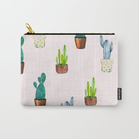 Cactus Formation #society6 #decor #buyart Carry-All Pouch