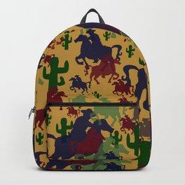 Cowboys Pattern Backpack