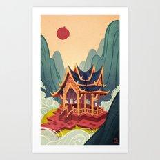 Air Temple Art Print