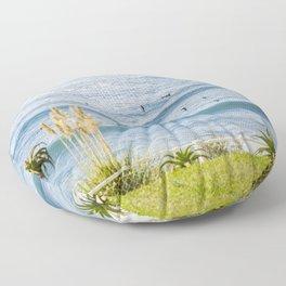 surfers Floor Pillow