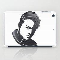leonardo dicaprio iPad Cases featuring Leonardo DiCaprio by Alejandro de Antonio Fernández