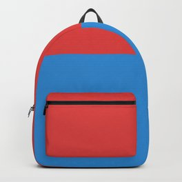 flag of Ticino or Tessin Backpack