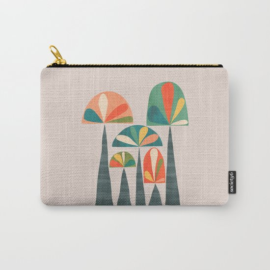 Quirky retro palm trees by budikwan
