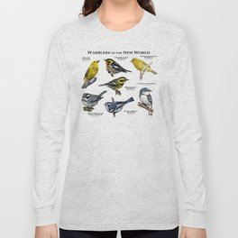 Warblers of the New World Long Sleeve T-shirt