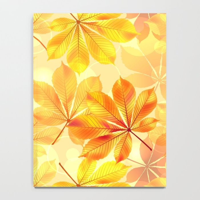 Autumn leaves #11 Notebook