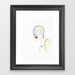 Blind (Illustration) Framed Art Print