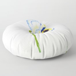 one  pansy Floor Pillow